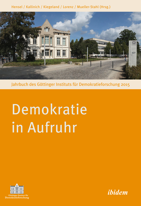 Yearbook of the Göttinger Institute for Democracy Research