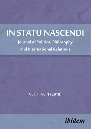 In Statu Nascendi – Journal of Political Philosophy and International Relations