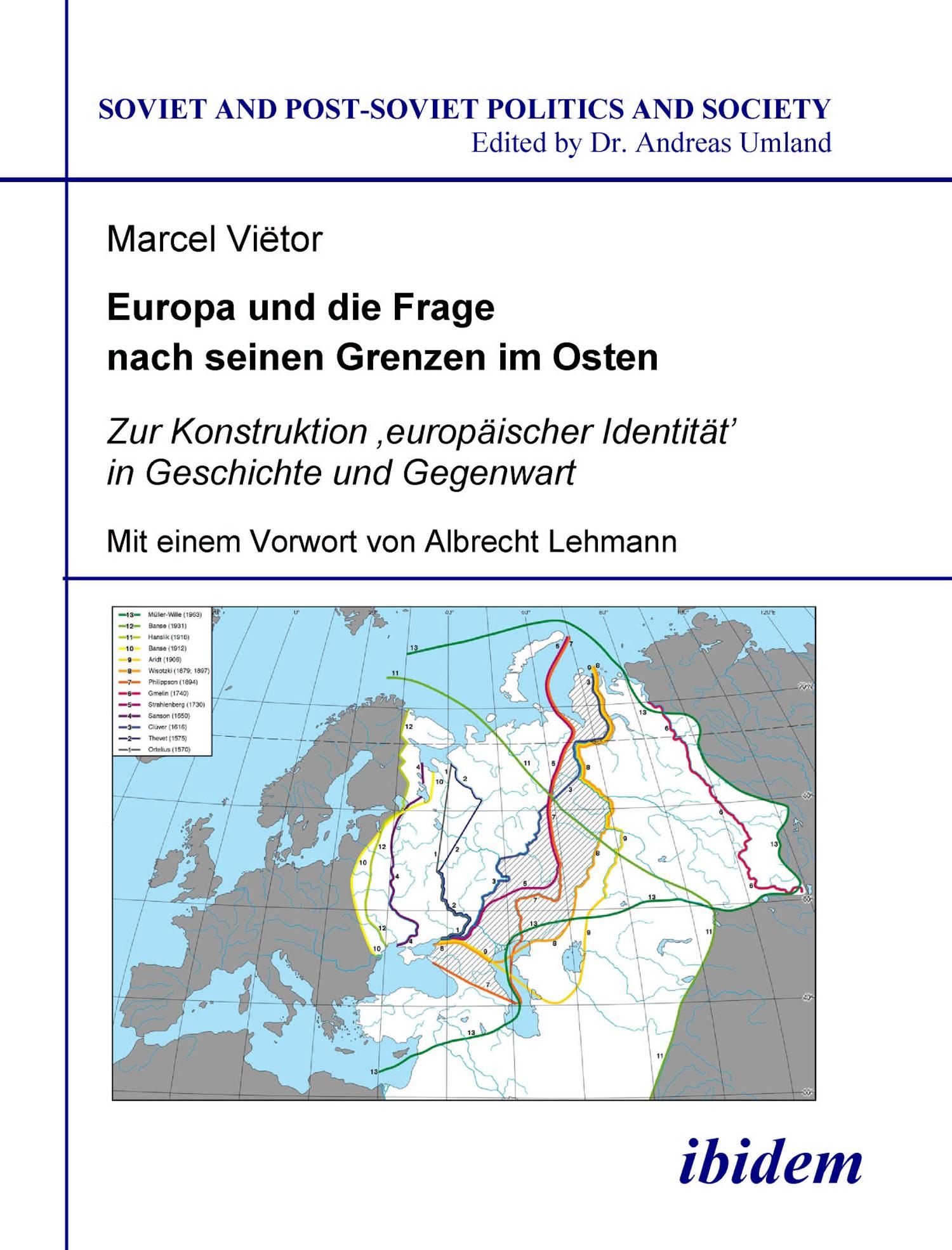 Europa und die Frage nach seinen Grenzen im Osten