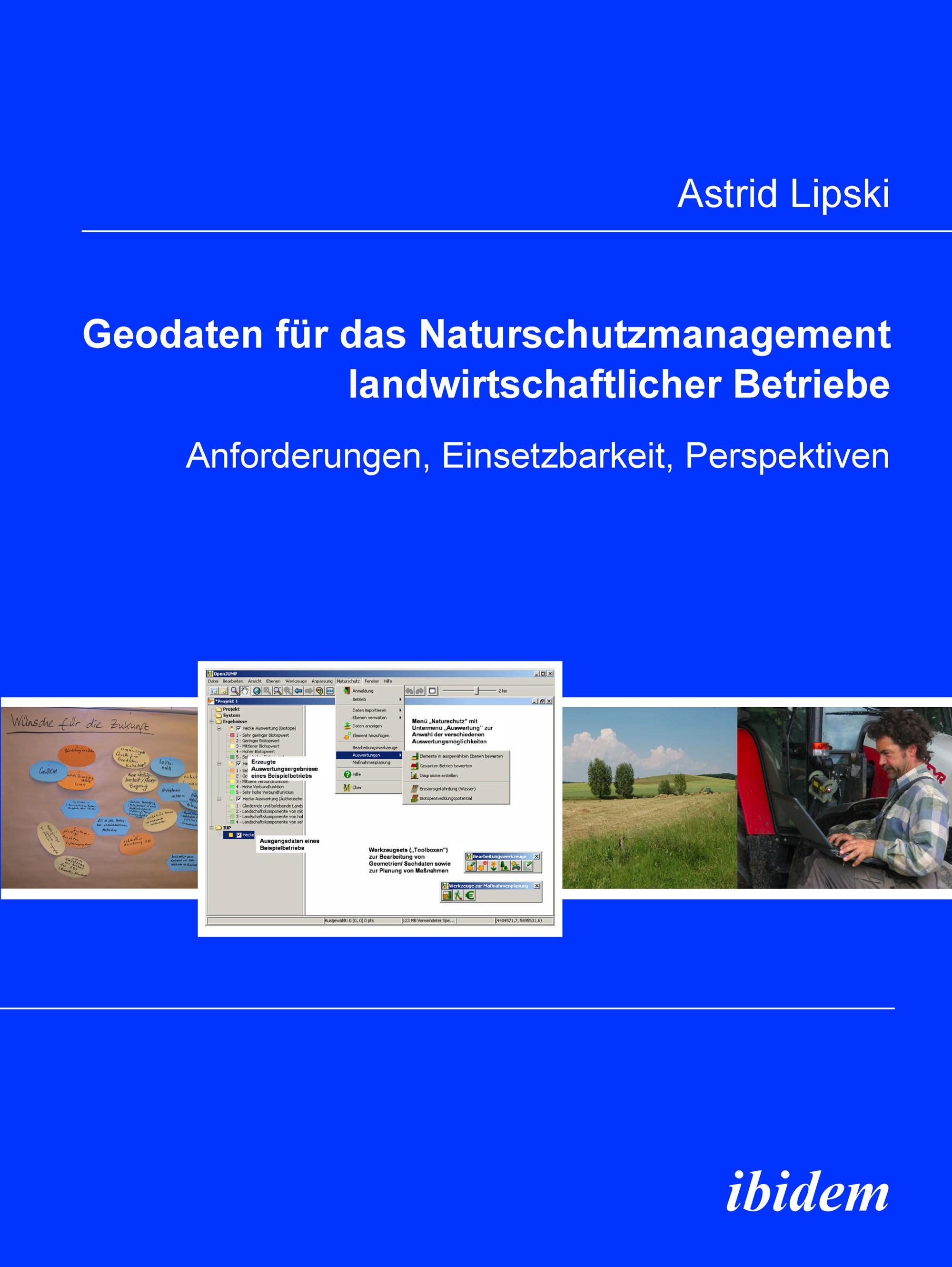 Geodaten für das Naturschutzmanagement landwirtschaftlicher Betriebe