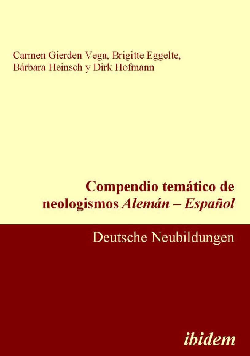 Compendio temático de neologismos Alemán – Español