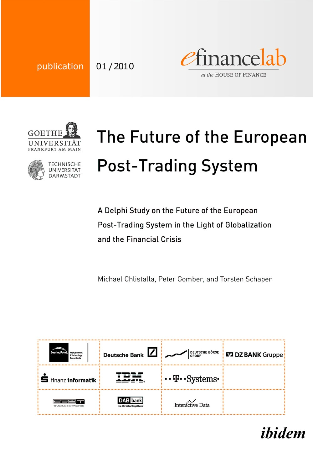 The Future of the European Post-Trading System