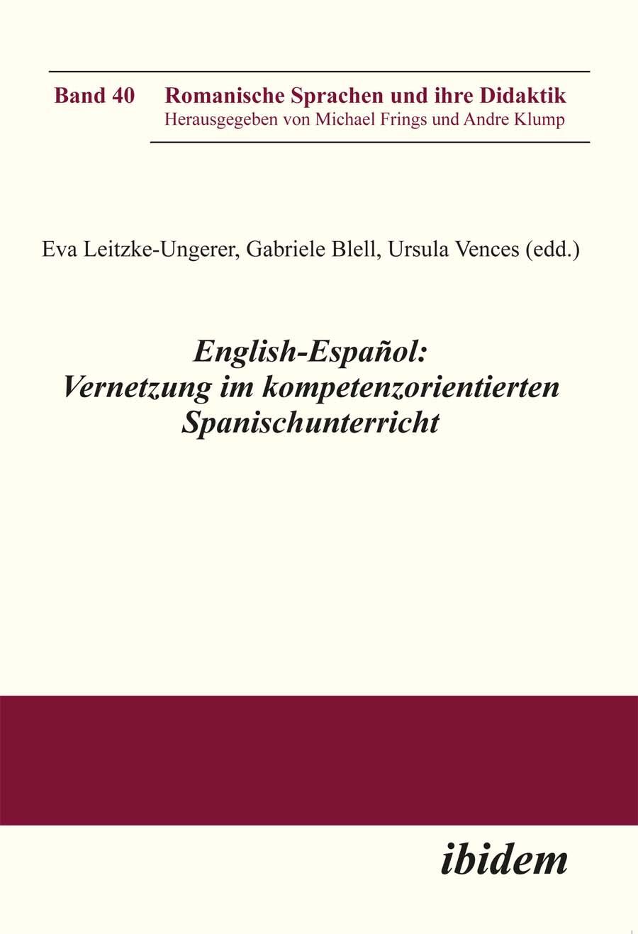 English-Español: Vernetzung im kompetenzorientierten Spanischunterricht