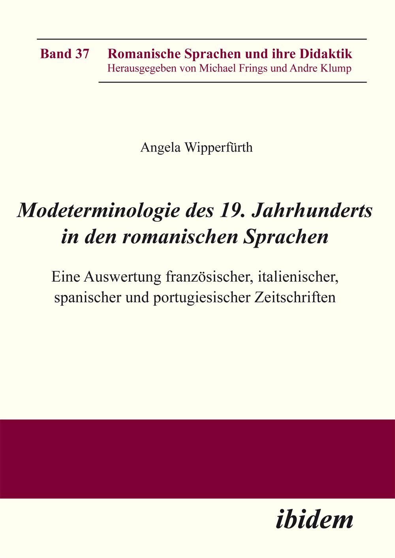 Modeterminologie des 19. Jahrhunderts in den romanischen Sprachen