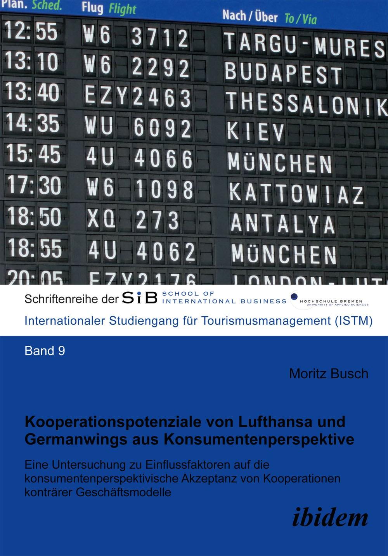 Kooperationspotenziale von Lufthansa und Germanwings aus Konsumentenperspektive