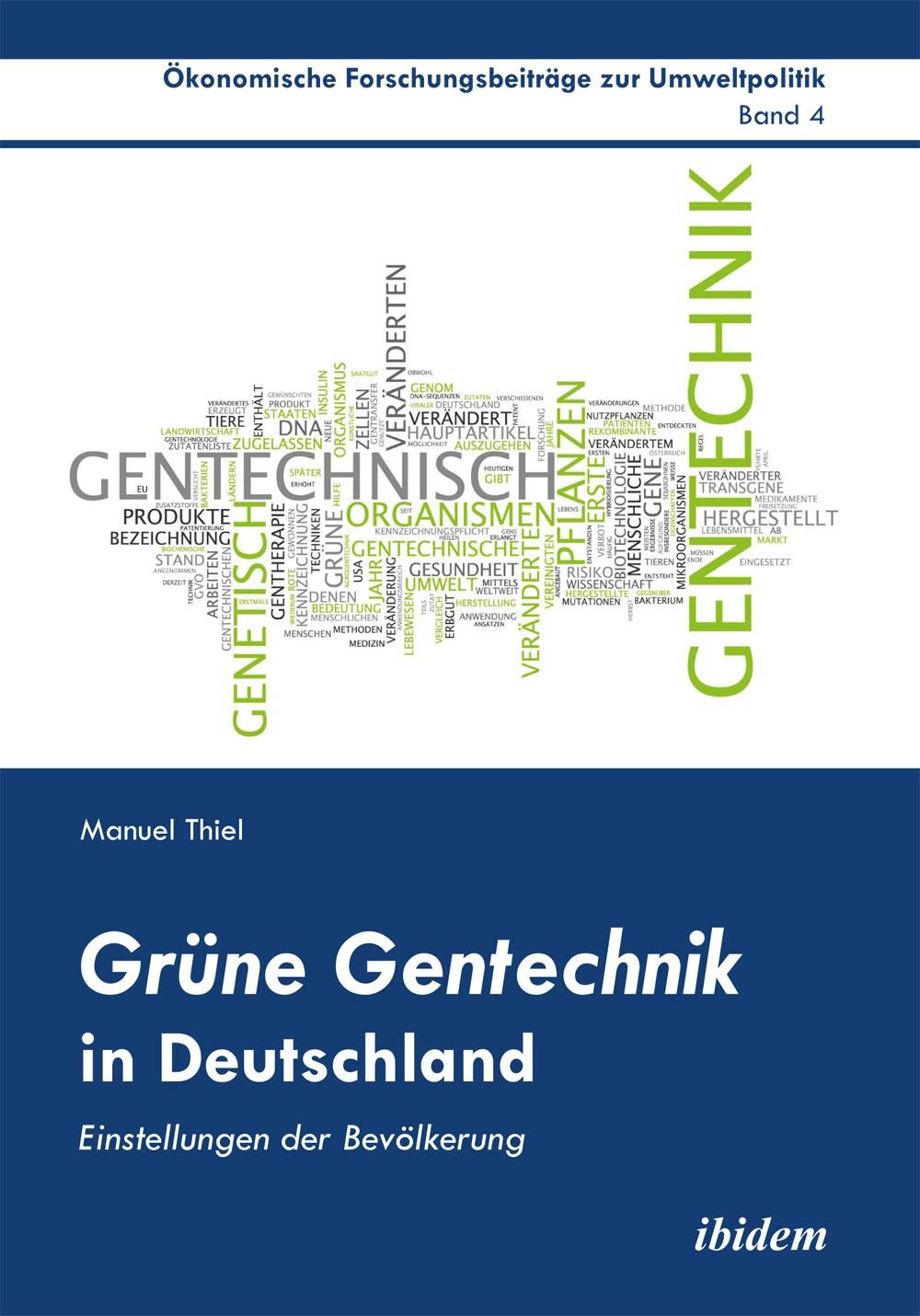 Grüne Gentechnik in Deutschland
