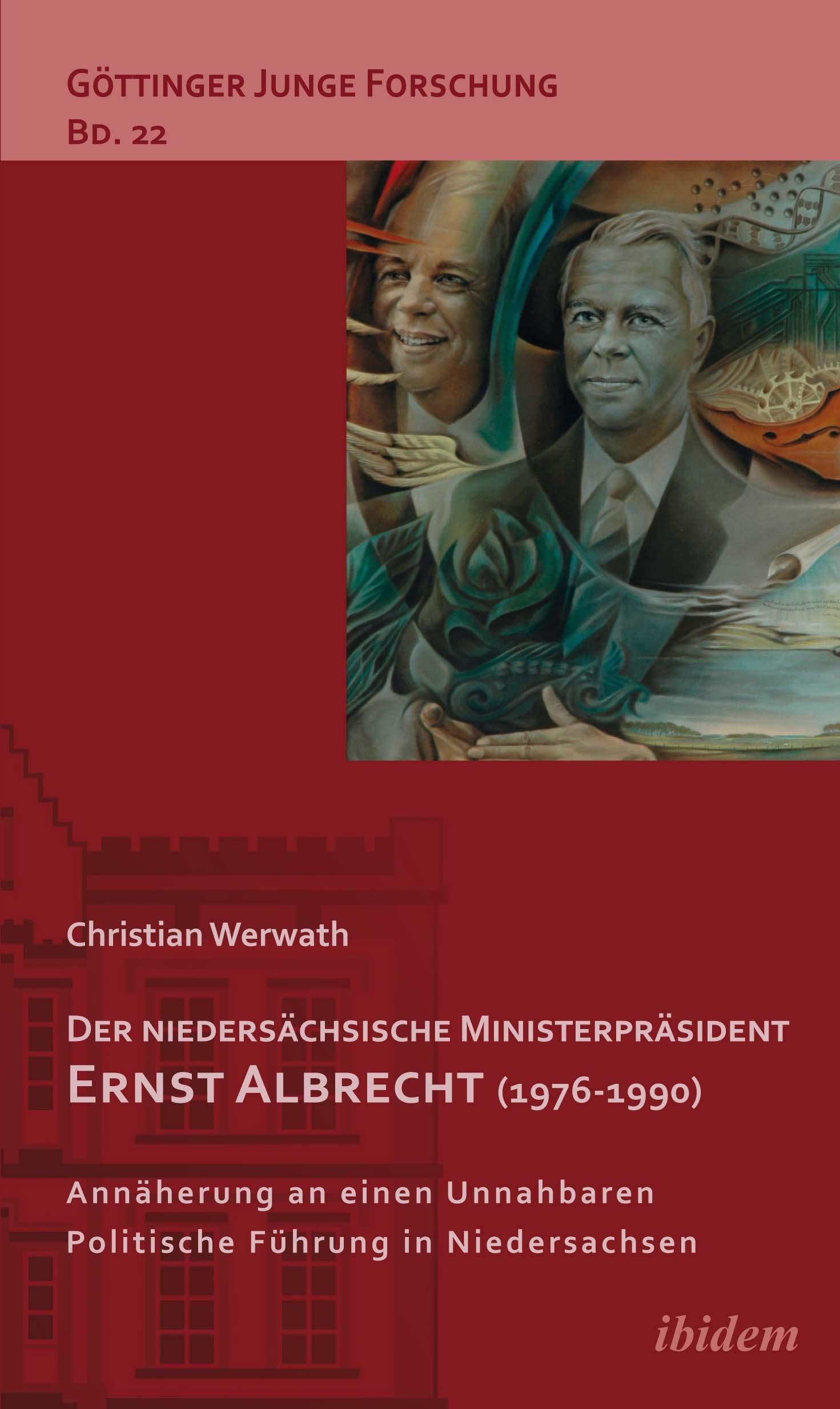 Der niedersächsische Ministerpräsident Ernst Albrecht (1976-1990)