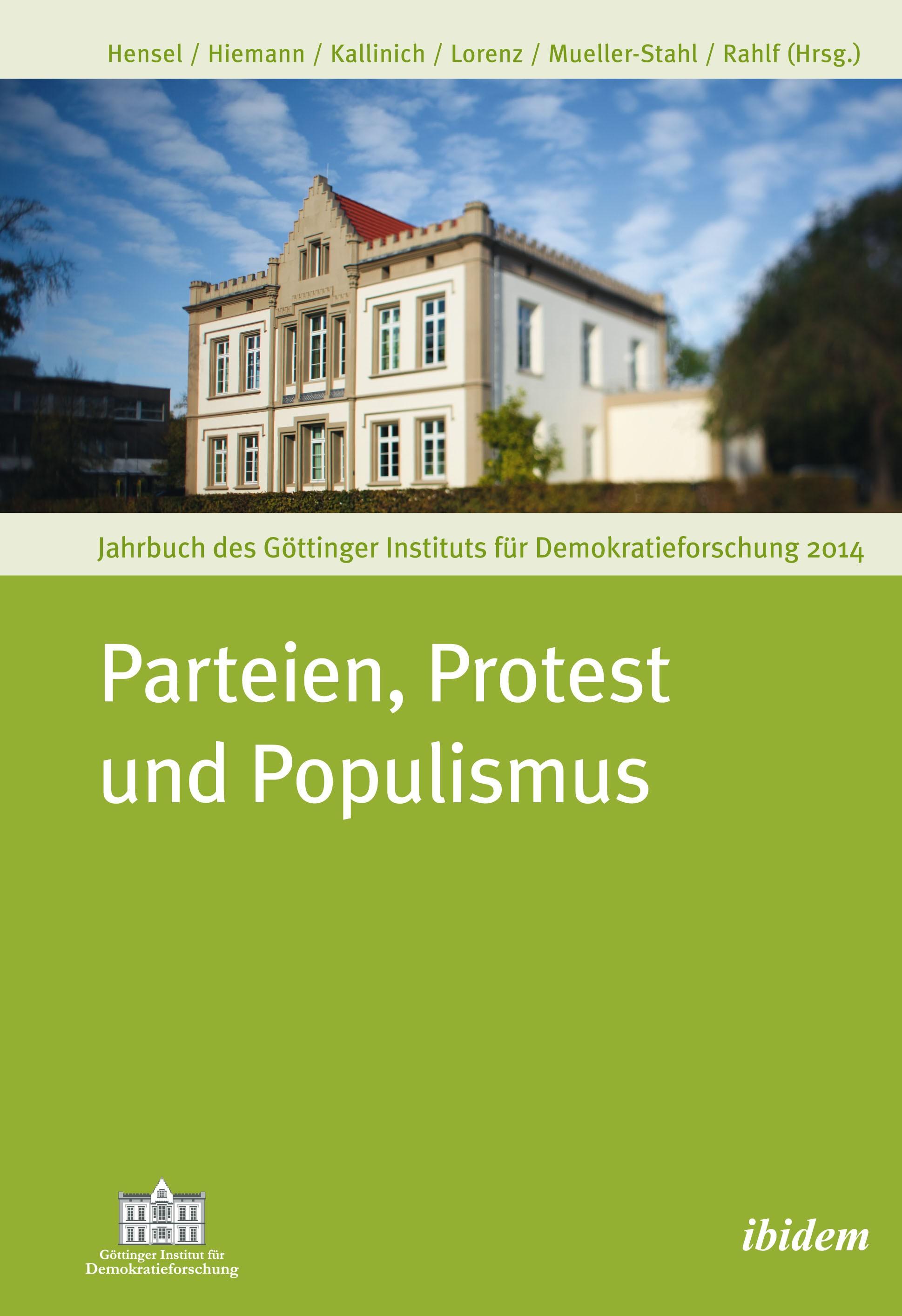 Parteien, Protest und Populismus