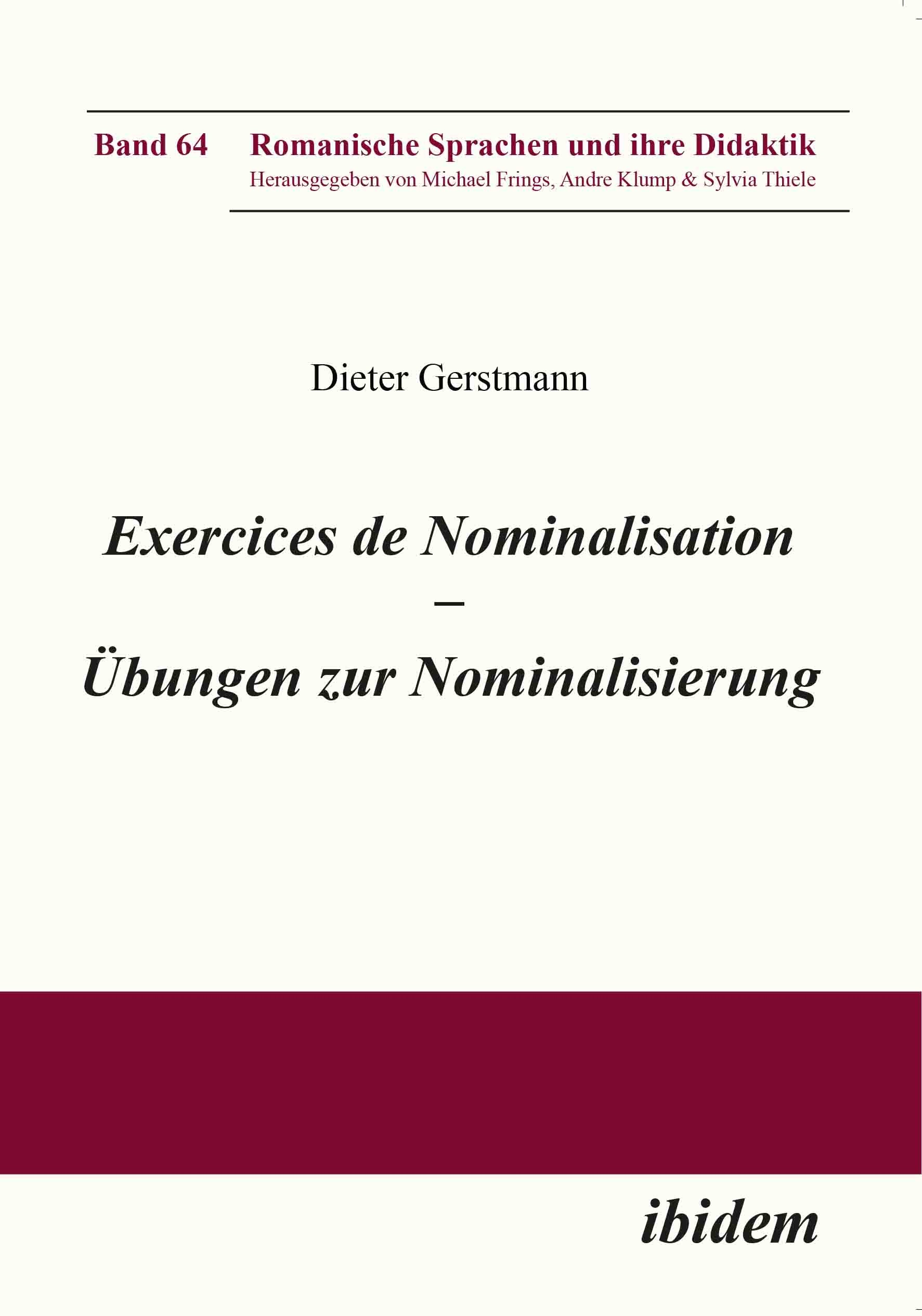 Exercices de nominalisation