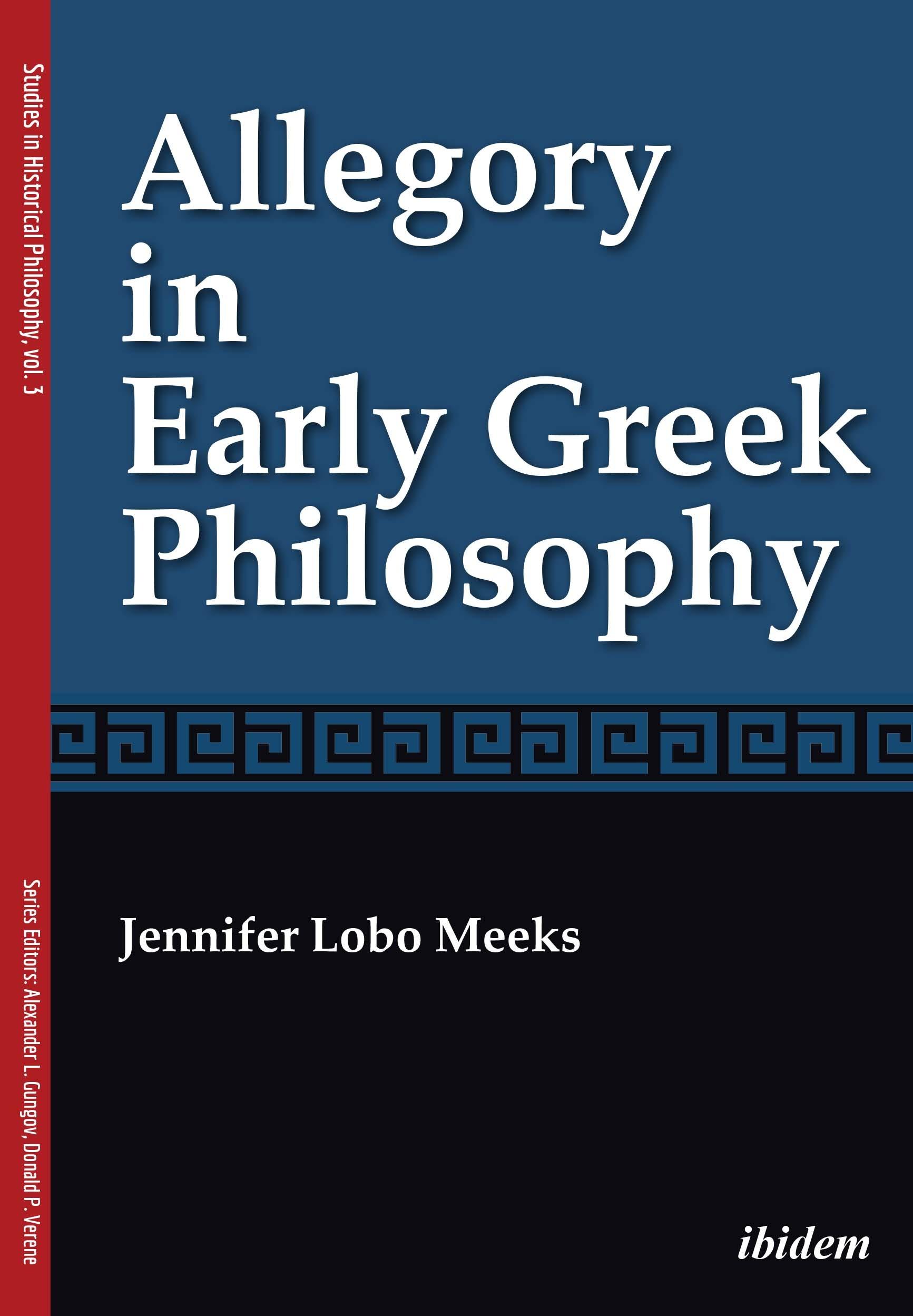 Allegory in Early Greek Philosophy