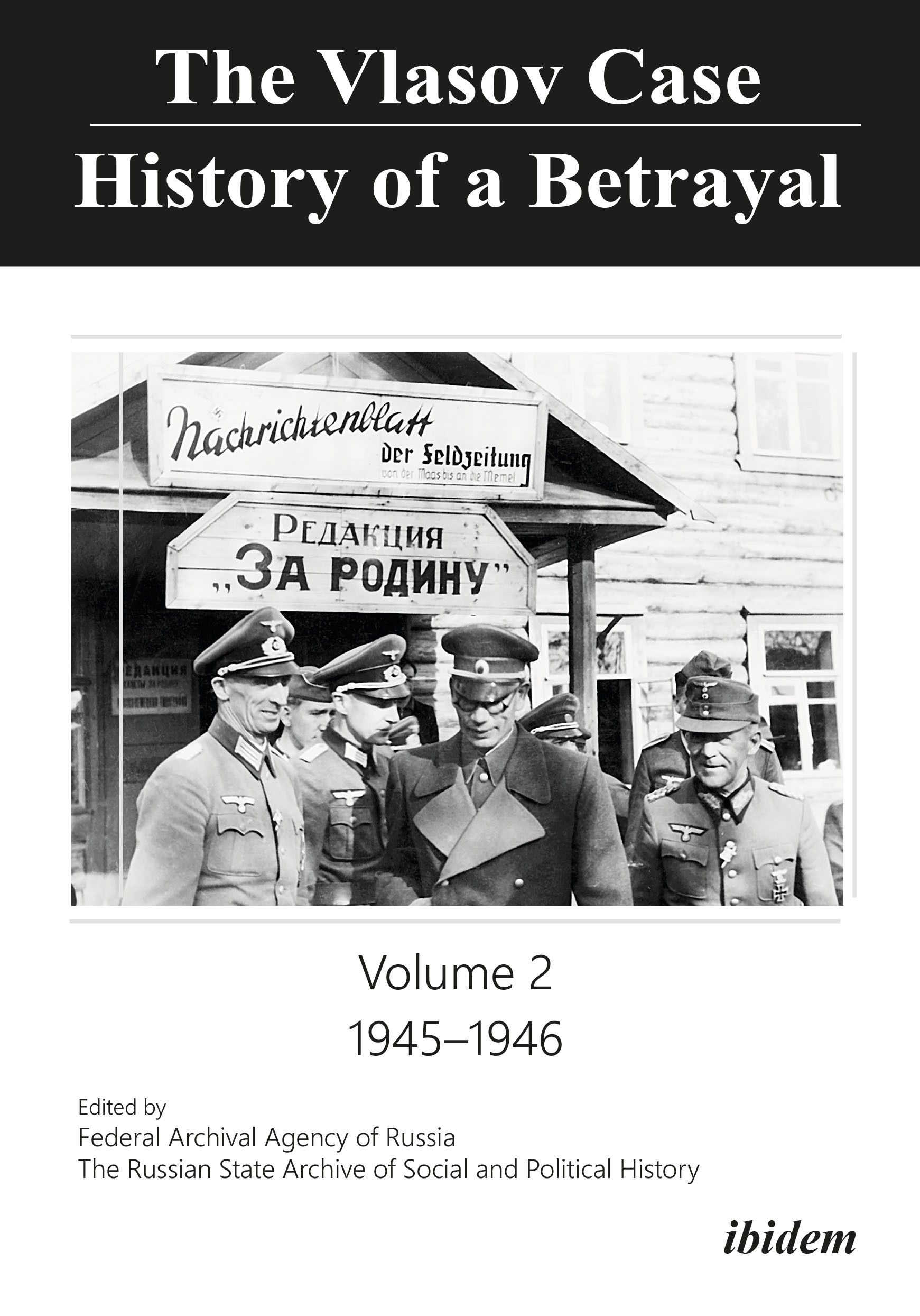 The Vlasov Case: History of a Betrayal
