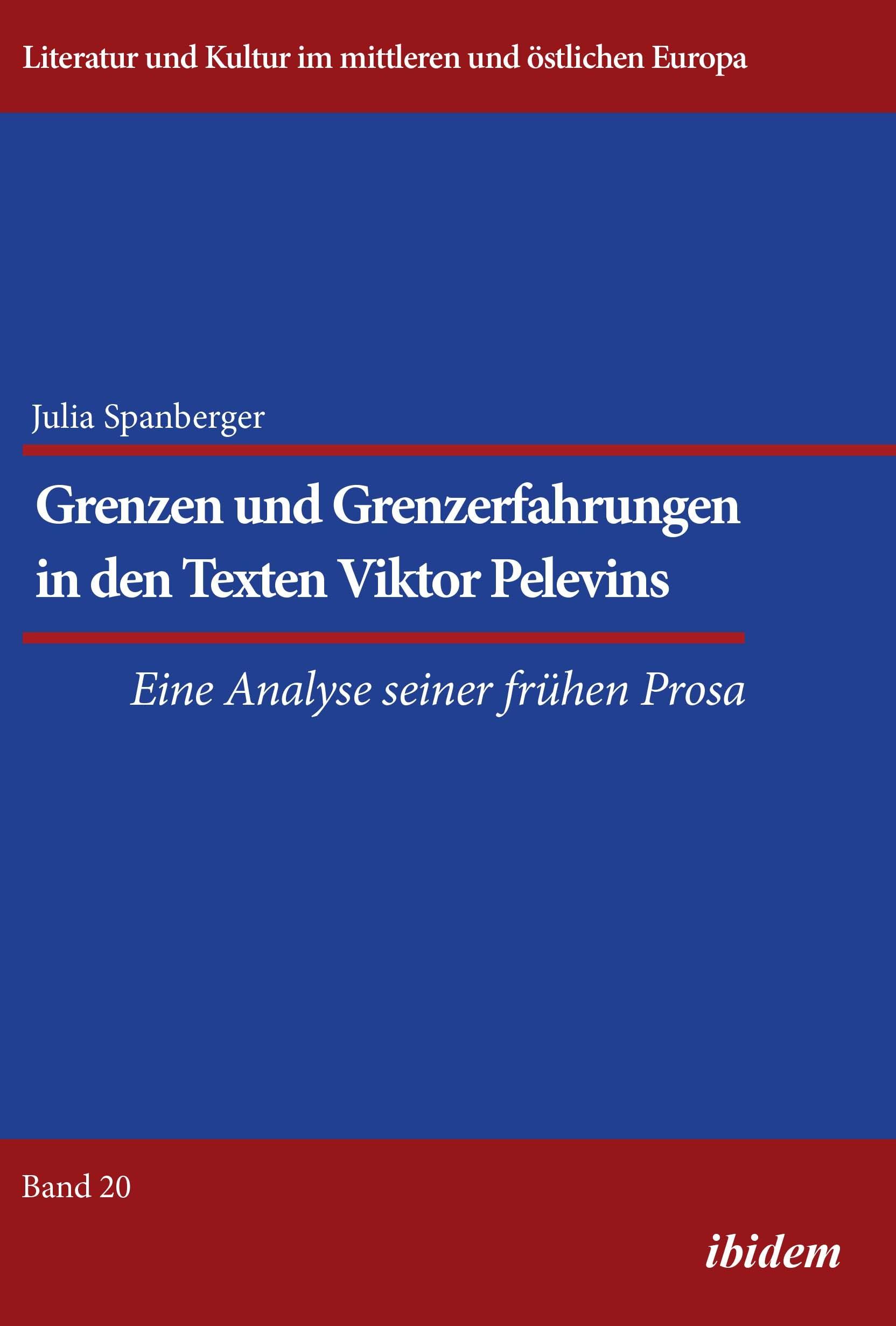 Grenzen und Grenzerfahrungen in den Texten Viktor Pelevins