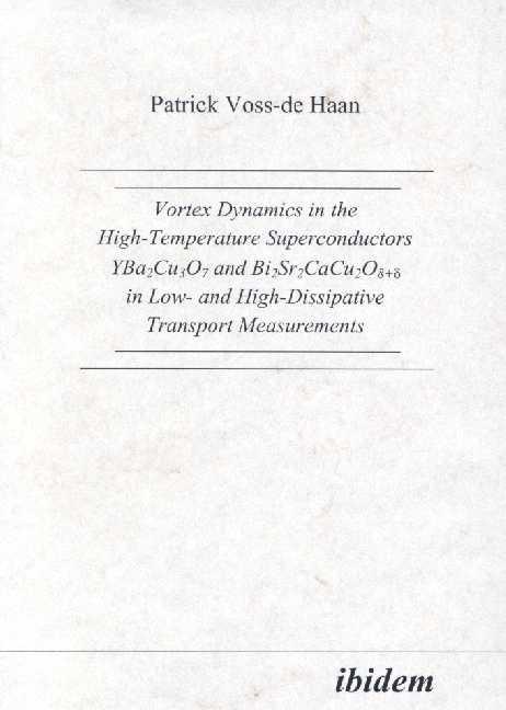 Vortex Dynamics in the High-Temperature Superconductors YBa2Cu307 and Bi2Sr2CaCu208+d in Low- and High-Dissipative Transport Measurements
