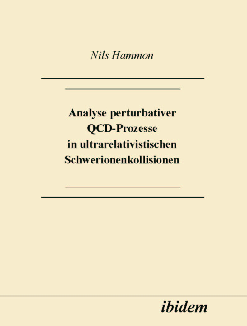 Analyse perturbativer QCD-Prozesse in ultrarelativistischen Schwerionenkollisionen