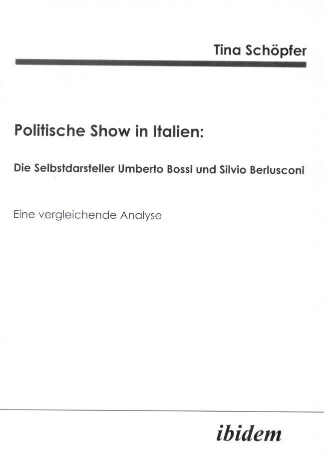 Politische Show in Italien