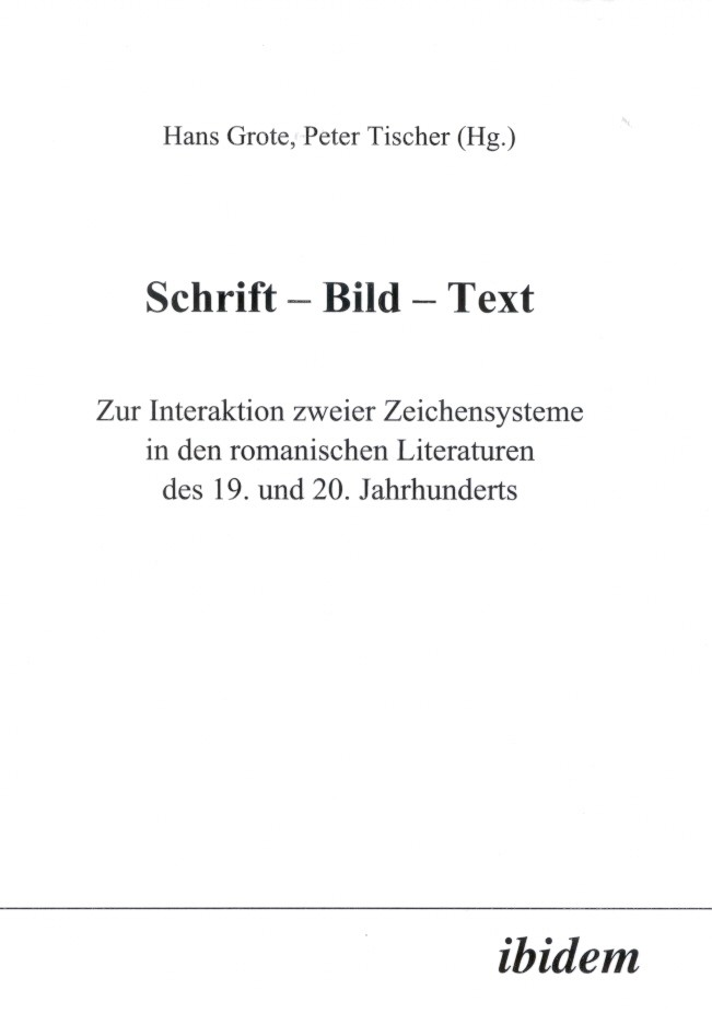 Schrift - Bild - Text