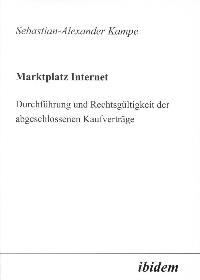 Marktplatz Internet