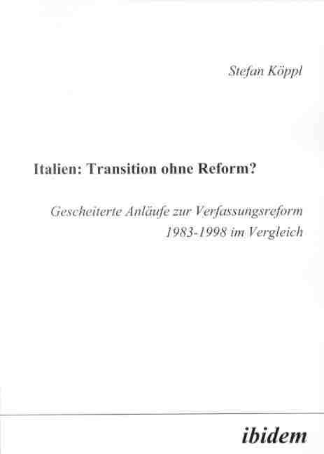 Italien: Transition ohne Reform?