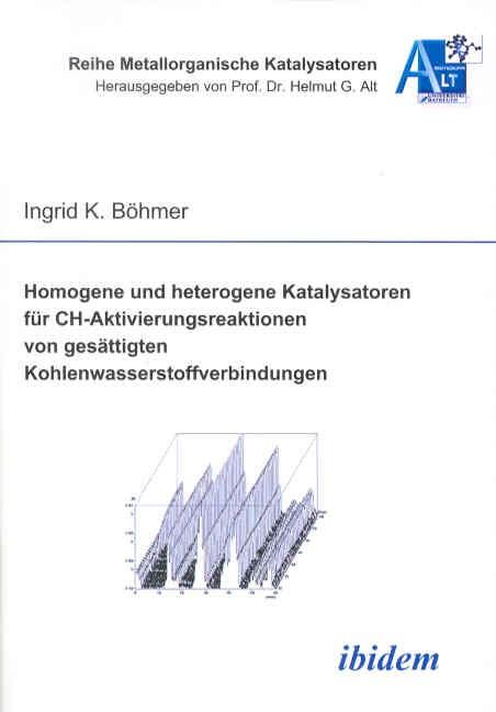 Homogene und heterogene Katalysatoren  für CH-Aktivierungsreaktionen von gesättigten  Kohlenwasserstoffverbindungen