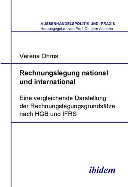 Rechnungslegung national und international