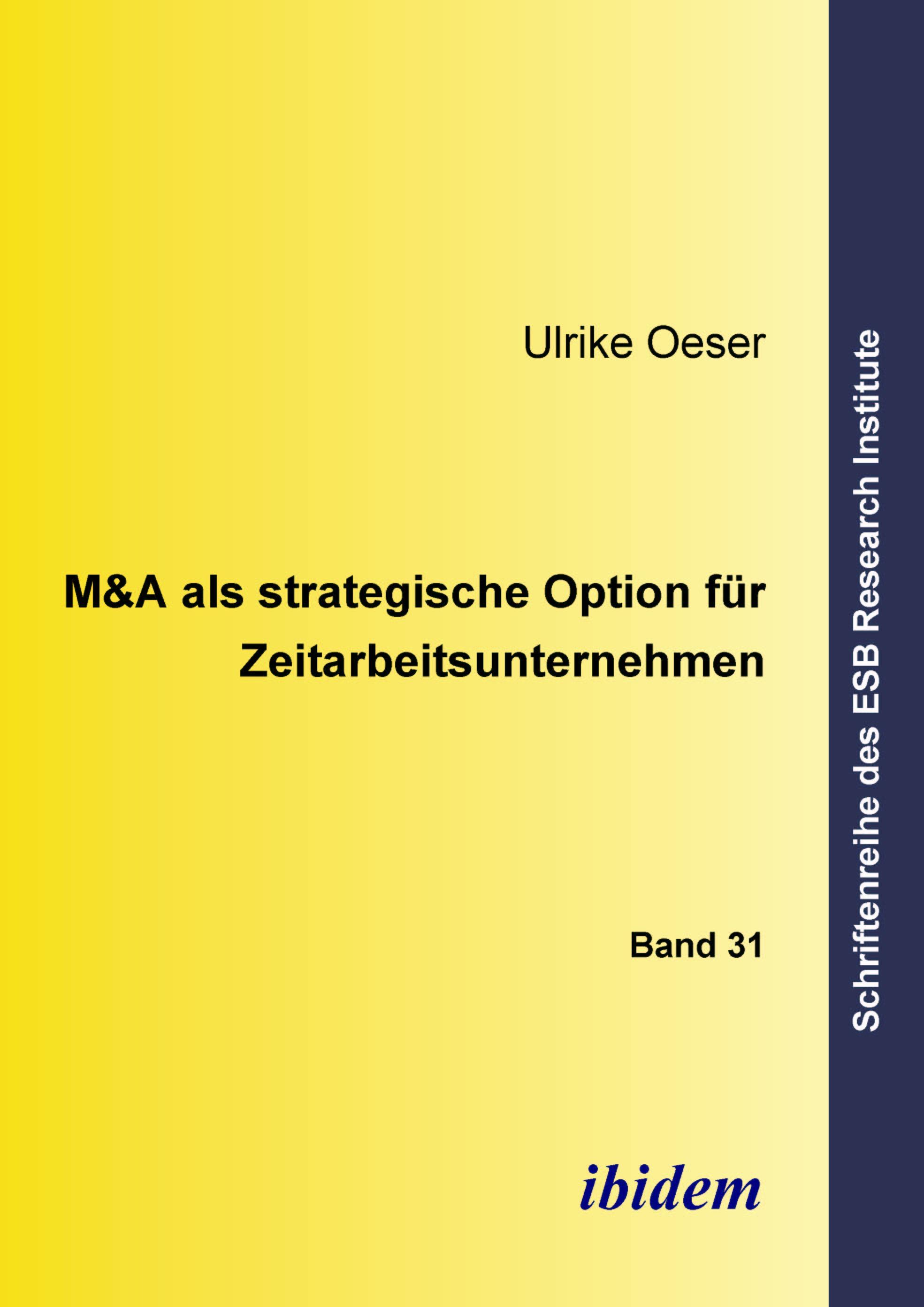 M&A als strategische Option für Zeitarbeitsunternehmen
