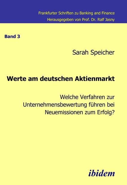 Werte am deutschen Aktienmarkt