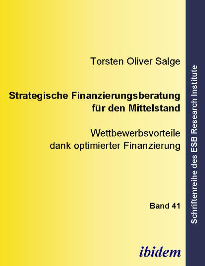 Strategische Finanzierungsberatung für den Mittelstand