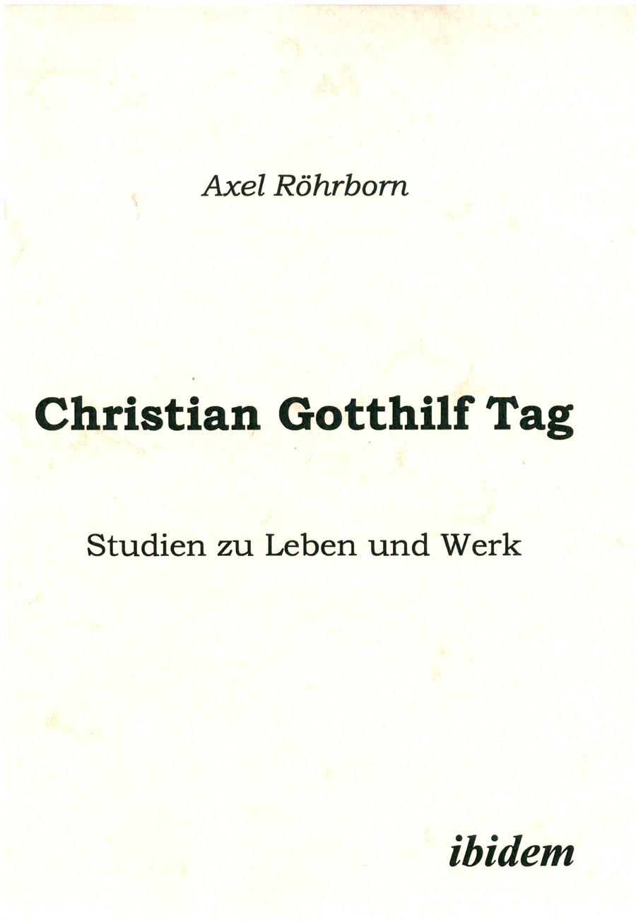 Christian Gotthilf Tag