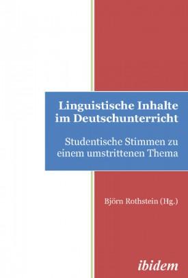 Linguistische Inhalte im Deutschunterricht