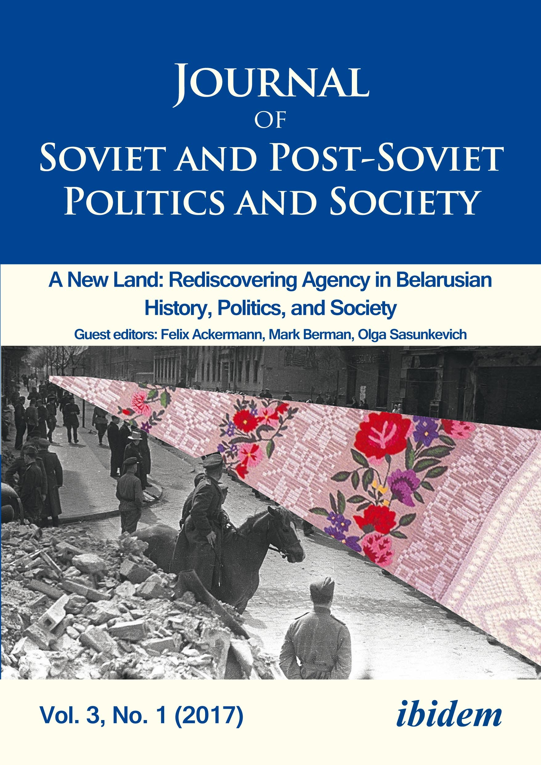 Journal of Soviet and Post-Soviet Politics and Society