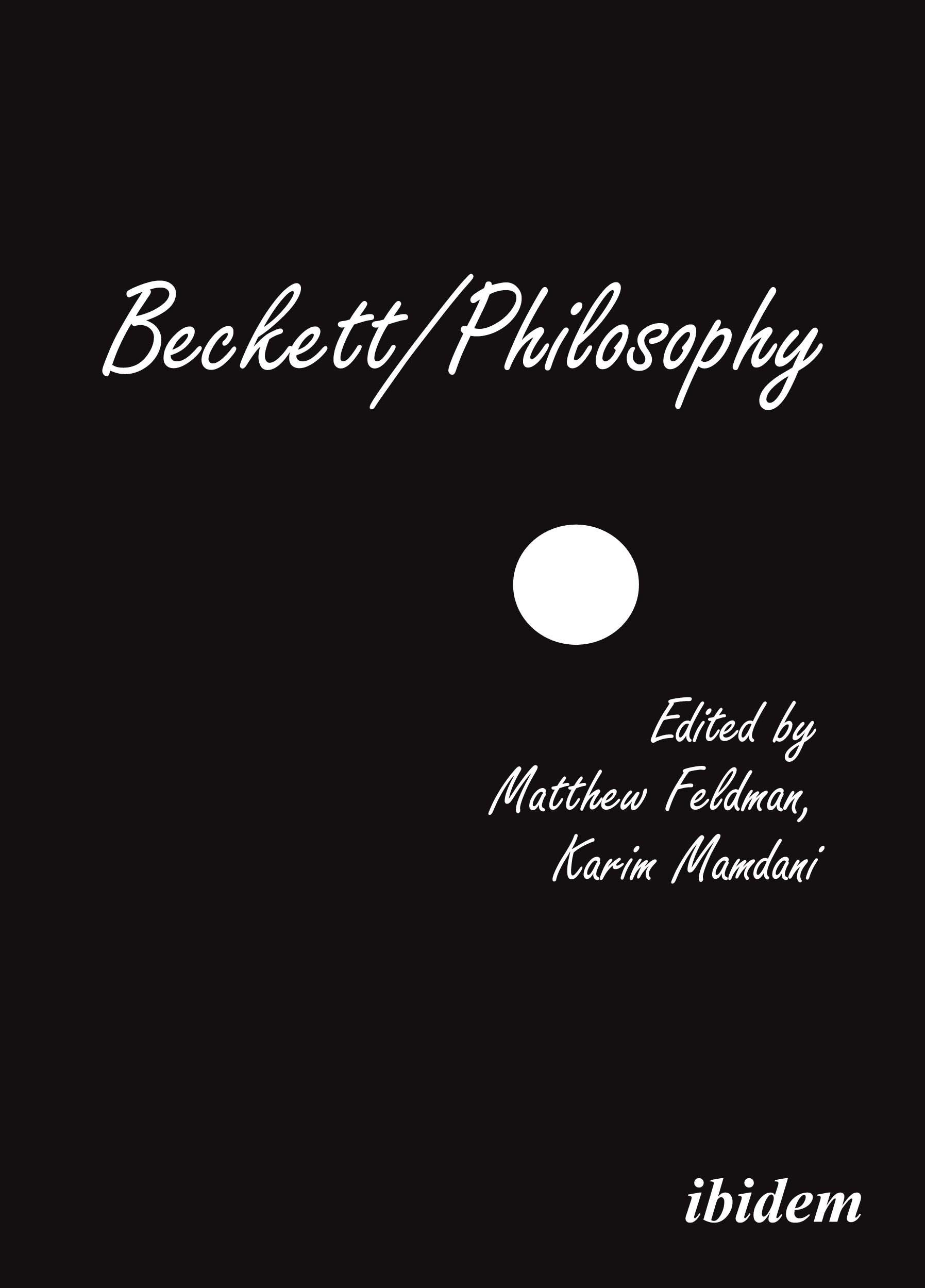 Beckett/Philosophy