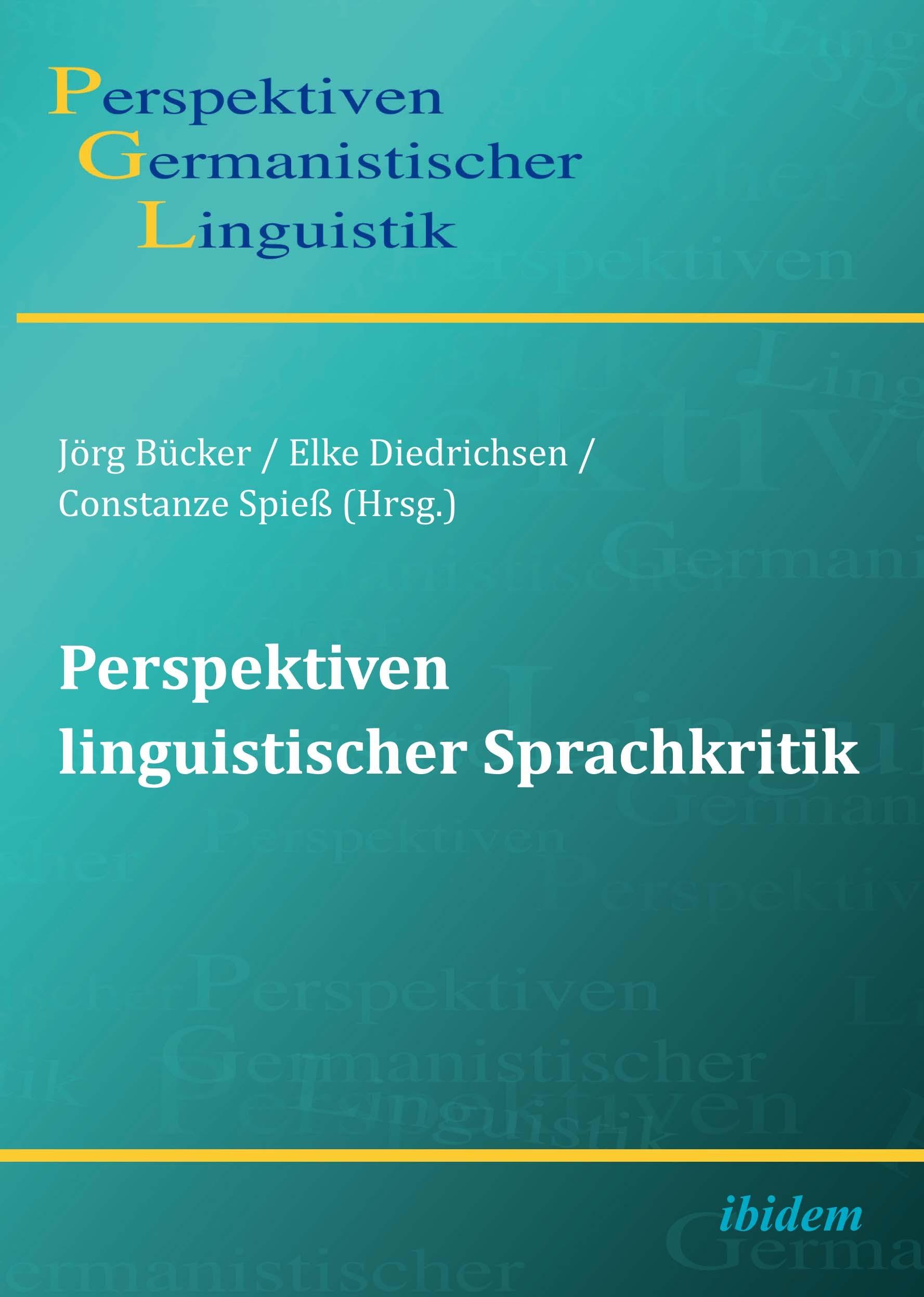 Perspektiven linguistischer Sprachkritik