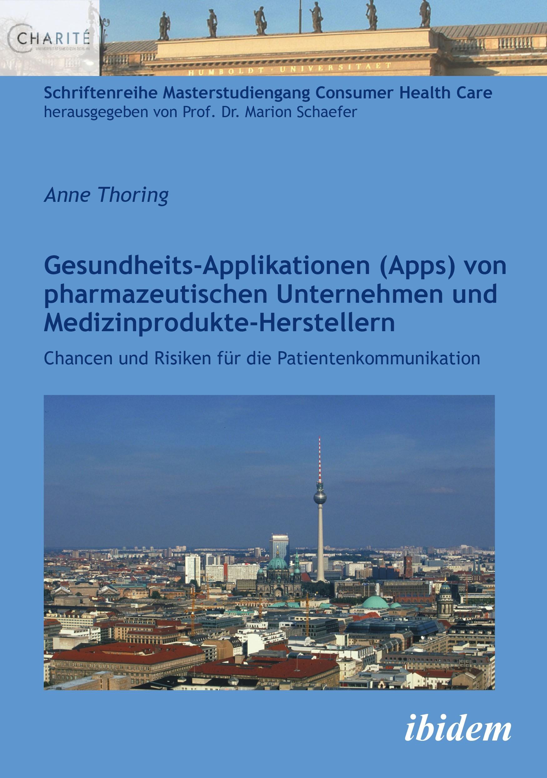 Gesundheits-Applikationen (Apps) von pharmazeutischen Unternehmen und Medizinprodukte-Herstellern