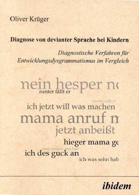 Diagnose von devianter Sprache bei Kindern