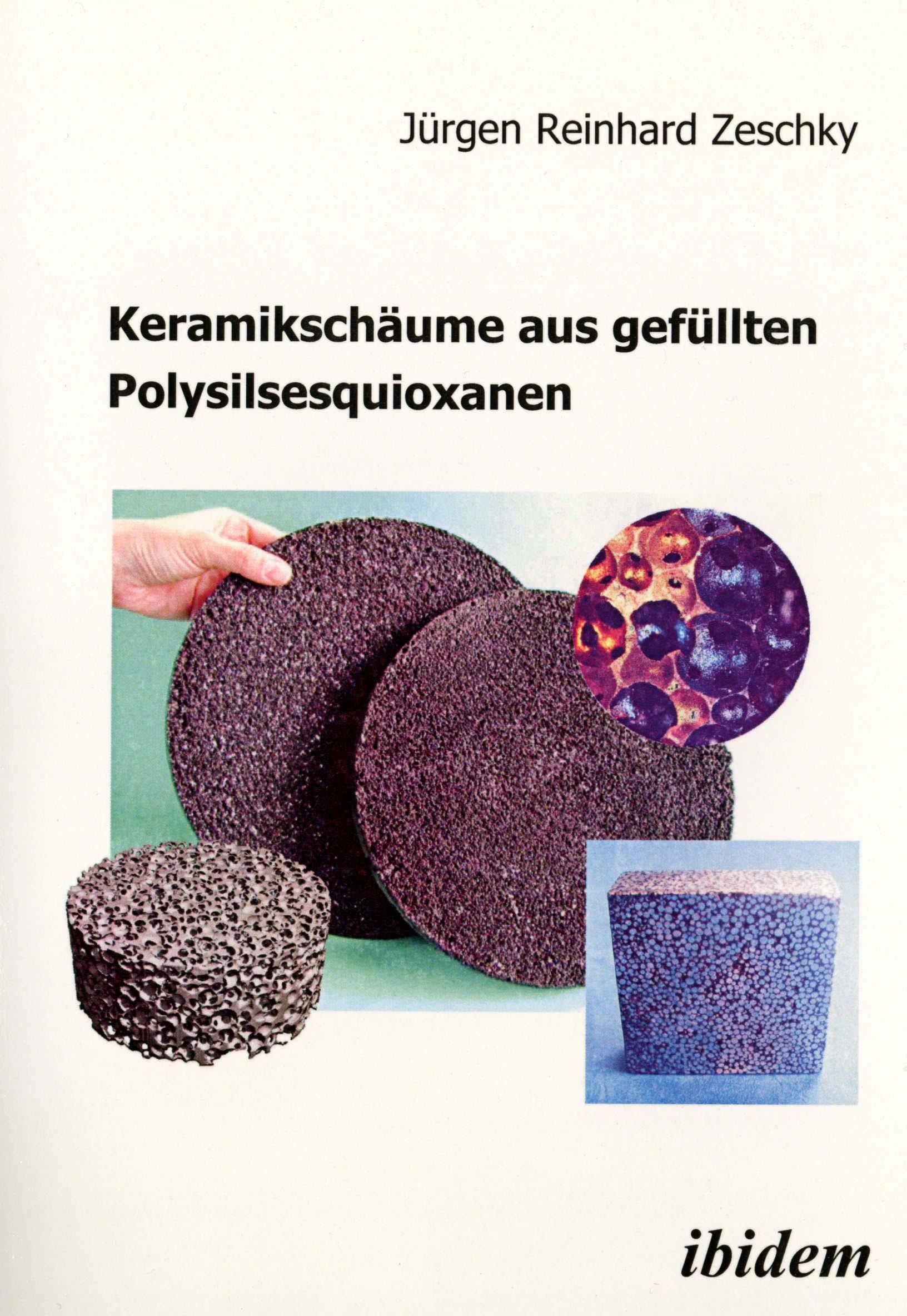 Keramikschäume aus gefüllten Polysilsesquioxanen