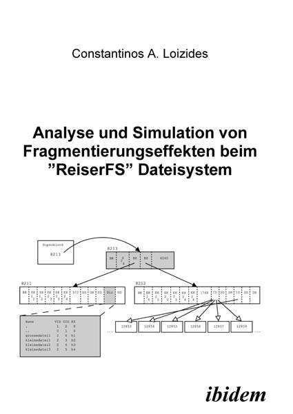 """Analyse und Simulation von Fragmentierungseffekten beim """"ReiserFS"""" Dateisystem"""