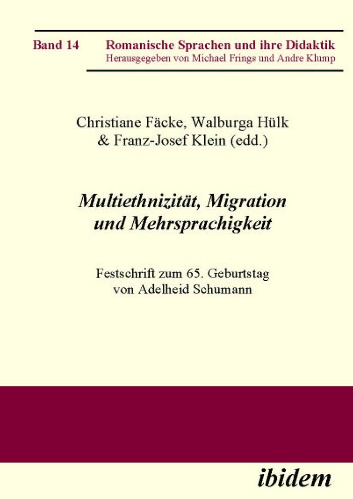 Multiethnizität, Migration und Mehrsprachigkeit