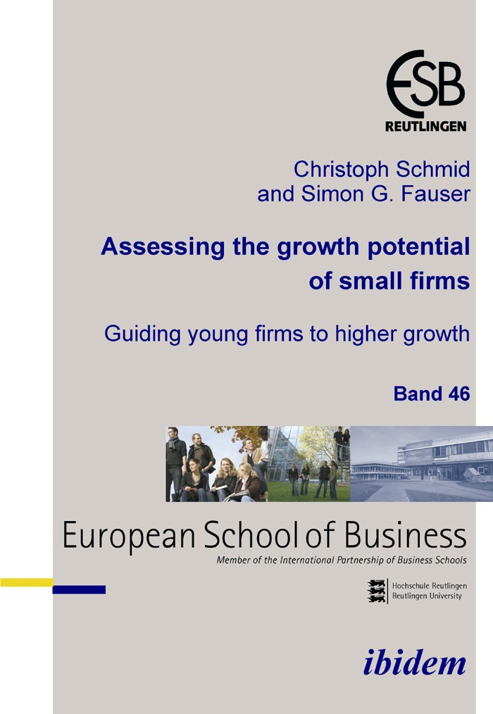 Assessing the growth potential of small firms