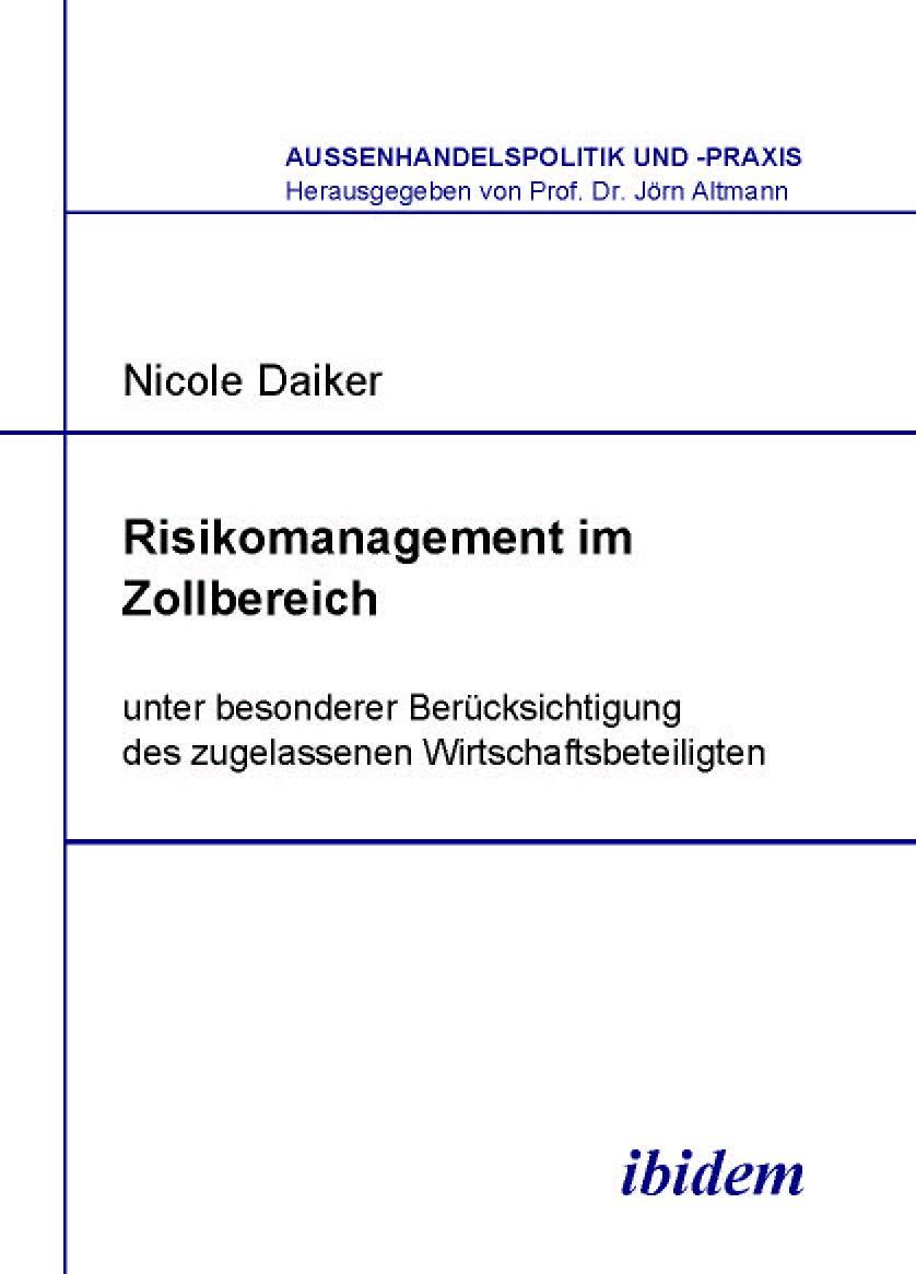 Risikomanagement im Zollbereich