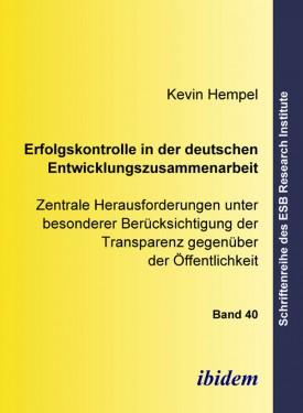 Erfolgskontrolle in der deutschen Entwicklungszusammenarbeit